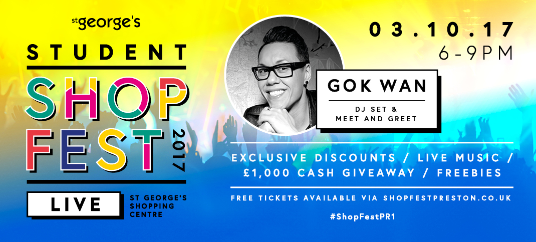 shopfest gok wan st george's shopping centre